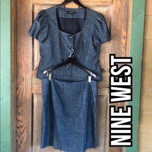 Nine West Skirt Set Size 16